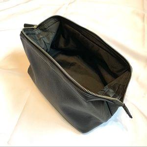 Men's Black Toiletry Travel Bag